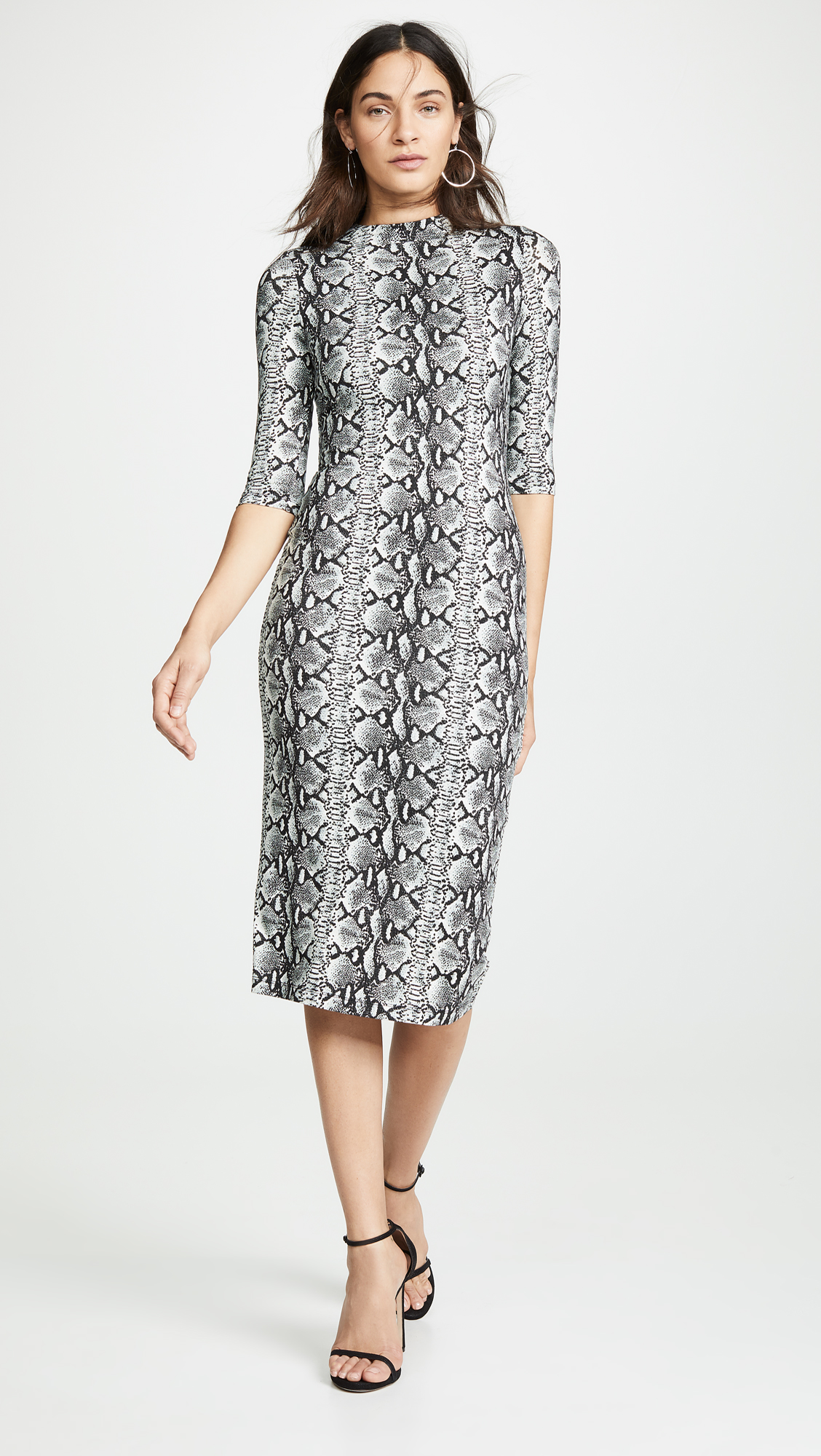 alice + olivia Delora Fitted Dress