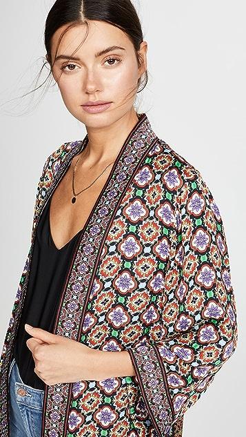 alice + olivia Lynn Mid Length Kimono
