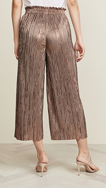 alice + olivia Elba Paper Bag Pants