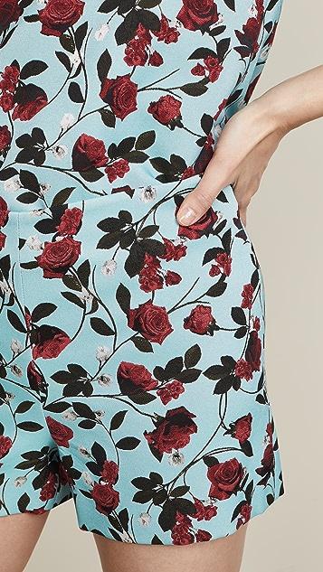 alice + olivia Sherri Zip Shorts