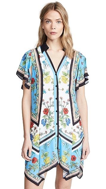alice + olivia Conner Handkerchief Shirtdress