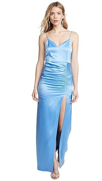 alice + olivia Макси-платье Diana