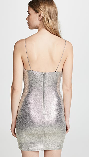 alice + olivia Harmie Fitted Mini Dress