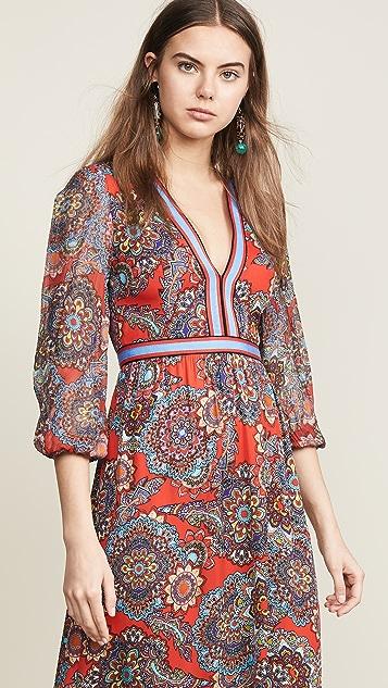 alice + olivia Макси-платье Jaida