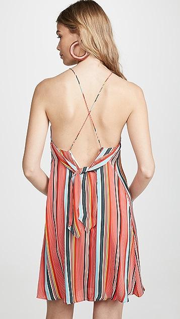 alice + olivia Kalia Tie Dress