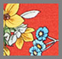 Freesia Blossom Poppy/Multi