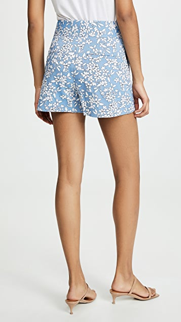 alice + olivia Cady High Waist Clean Shorts