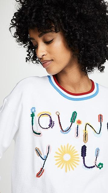 alice + olivia Gleeson Embellished Sweater