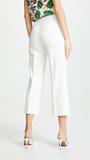 alice + olivia Lorinda Super High Waisted Crop Pants