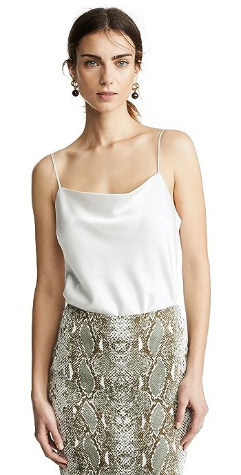 alice + olivia Harmon Thong Bodysuit - Off White