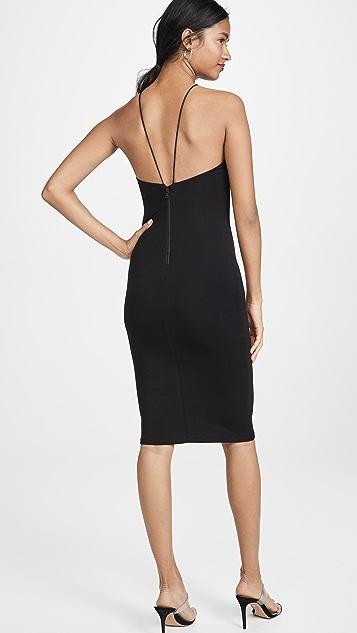 alice + olivia Облегающее платье Delora с тонкими бретельками