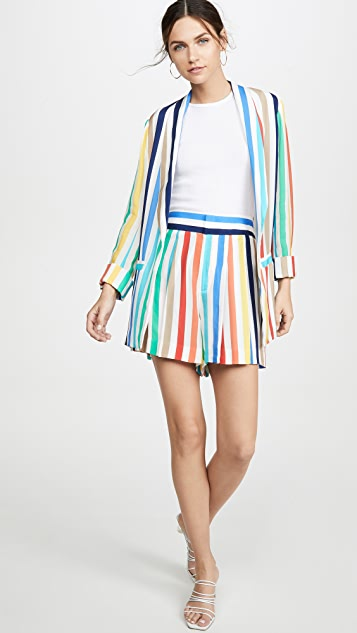 alice + olivia Kylie Easy Shawl Collar Jacket