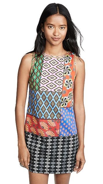 alice + olivia x Carla Kranendonk Clyde Shift Dress