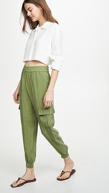 alice + olivia Dede Cargo Pants
