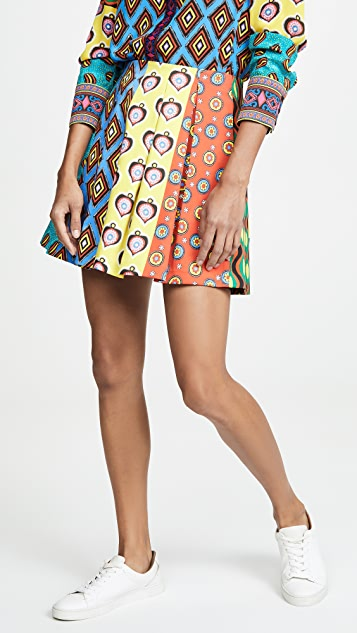 alice + olivia x Carla Kranendonk Connor Lampshade Skirt with Pockets