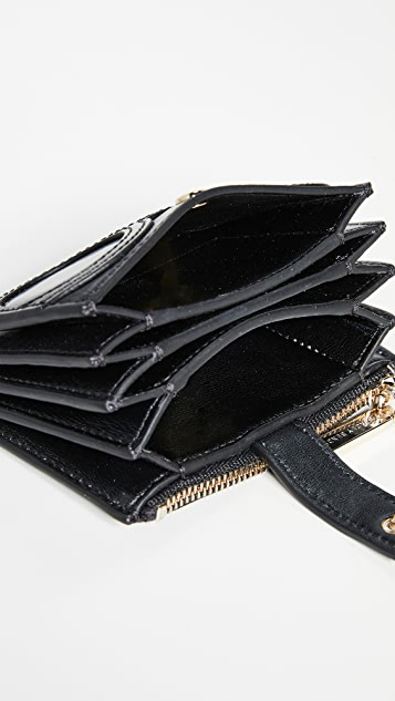 alice + olivia Ester Stace Face Accordian Wallet