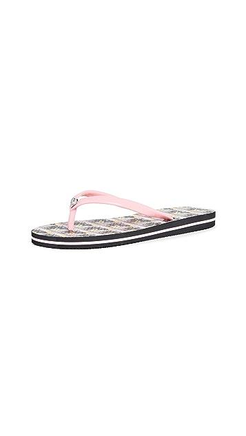 alice + olivia Eva 42 夹趾凉鞋