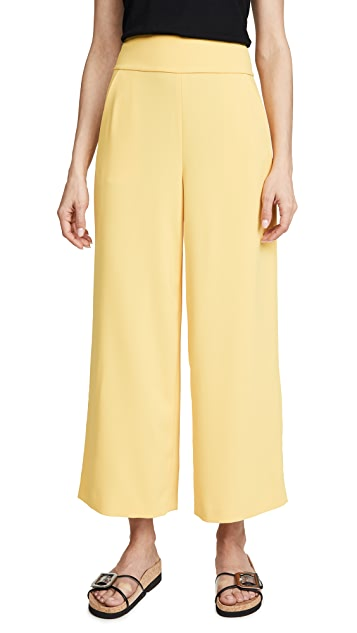alice + olivia Donald High Waist Gaucho Pants