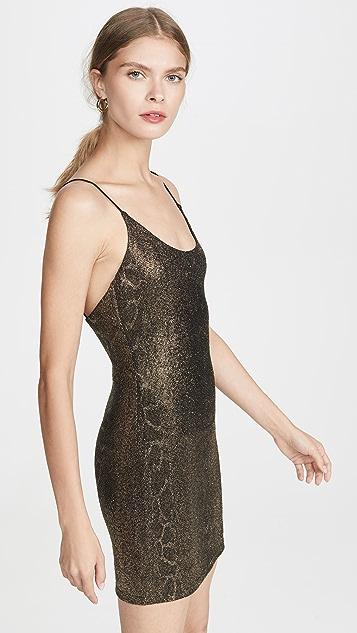 alice + olivia Delora 细肩带连衣裙