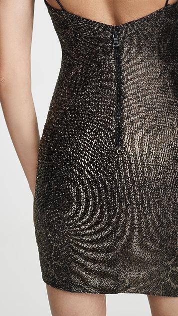 alice + olivia Delora Spaghetti Strap Dress