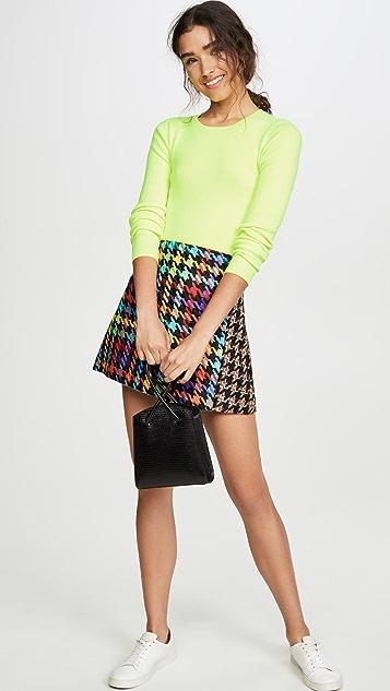 alice + olivia Darma Combo Crossover Skirt
