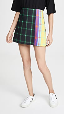Semira Pleated Miniskirt