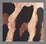 Spotted Leopard Dark Tan/Black