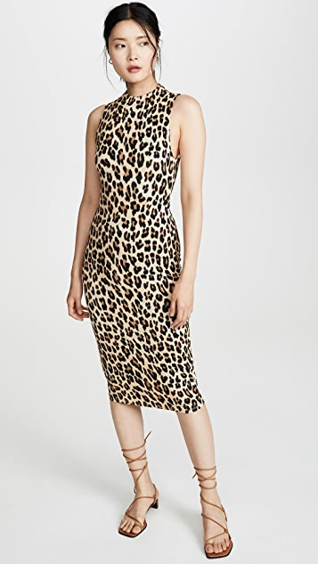 Sleeveless Delora Dress by Alice + Olivia