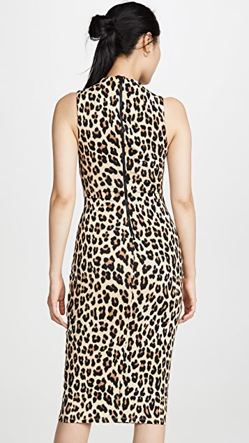 alice + olivia Sleeveless Delora Dress