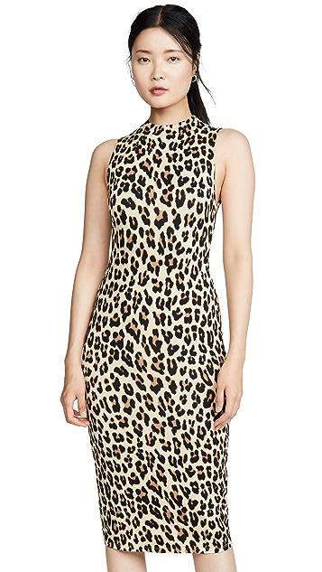alice + olivia Sleeveless Delora Dress