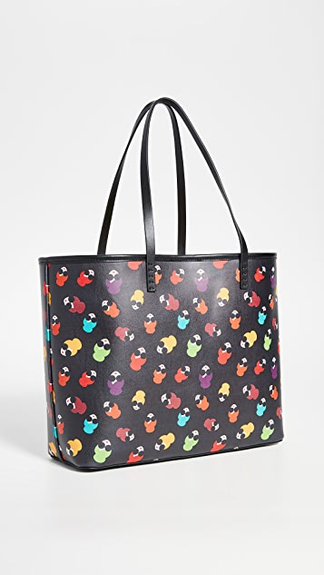 alice + olivia Veronica Rainbow Stace Tote Bag