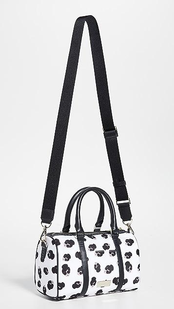 alice + olivia Nina 小号印花尼龙健身包