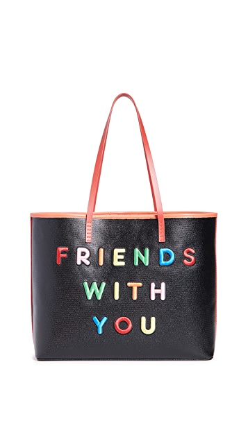 alice + olivia Friends With You x Alice + Olivia Missy Perfect 大号托特包手提袋
