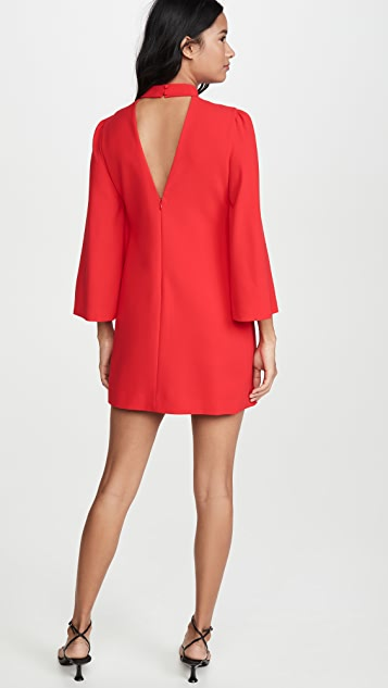 alice + olivia Bailey Bell Sleeve Dress