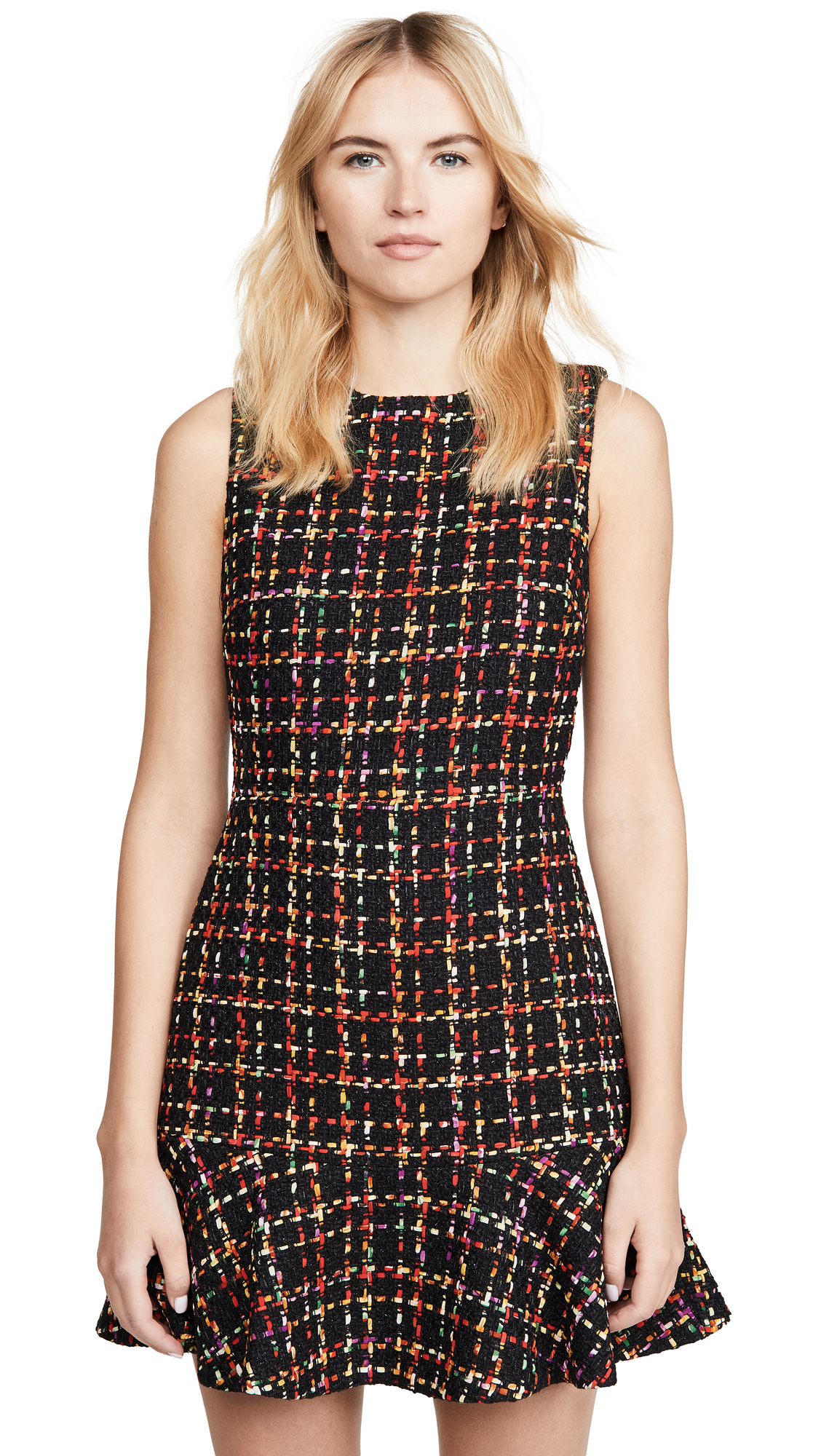 alice + olivia Sonny Ruffle Dress