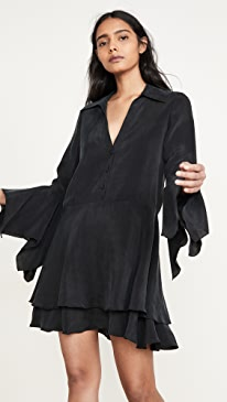Priscilla Button Down Shirt Dress