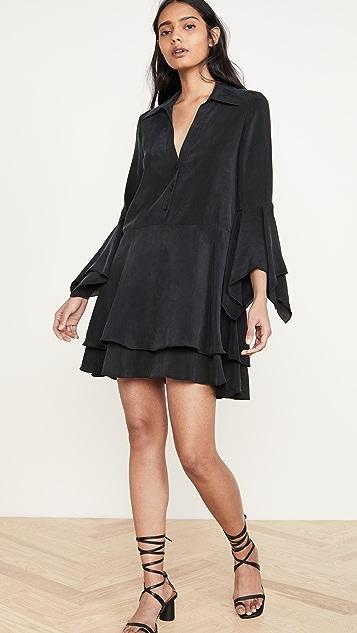 alice + olivia Priscilla Button Down Shirt Dress