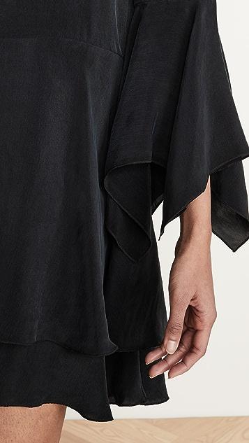 alice + olivia Priscilla 系扣衬衣连衣裙
