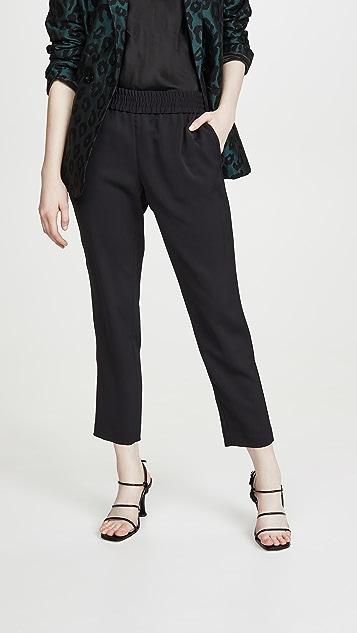 alice + olivia Зауженные брюки Benny Pull Up