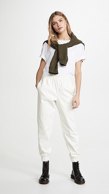 alice + olivia Pete Pull Up 长裤