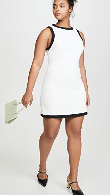 alice + olivia Truly 镶边连衣裙