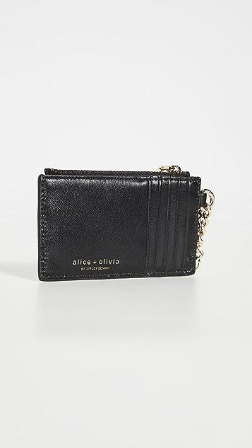 alice + olivia Regina Card Case Keycharm