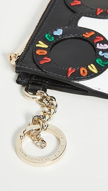alice + olivia Regina 卡夹钥匙链