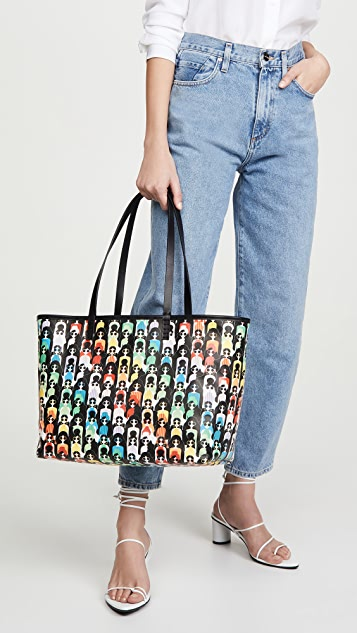 alice + olivia Двусторонняя объемная сумка с короткими ручками Blaire
