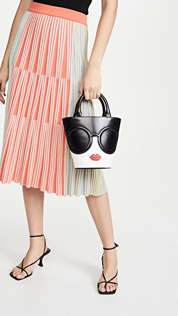 alice + olivia Spencer Stace Face Bucket Bag