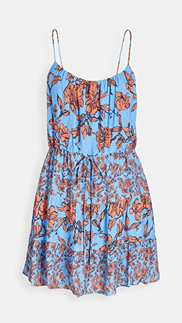 alice + olivia Cheyla Drawstring Dress