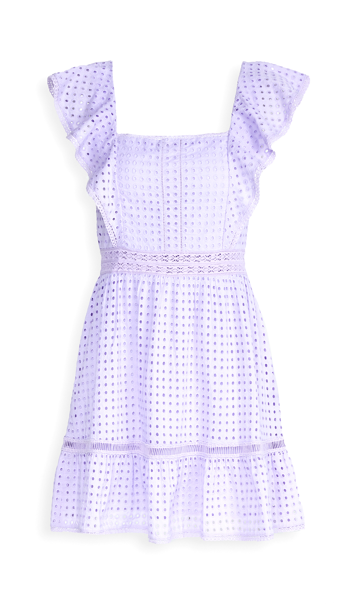 alice + olivia Remada Ruffle Dress