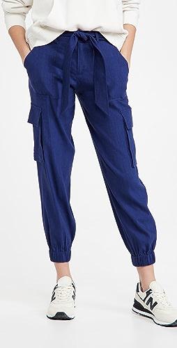 alice + olivia - Verla 系带修身工装裤