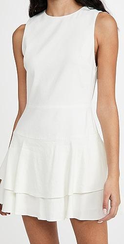 alice + olivia - Palmira 无袖荷叶边连衣裙