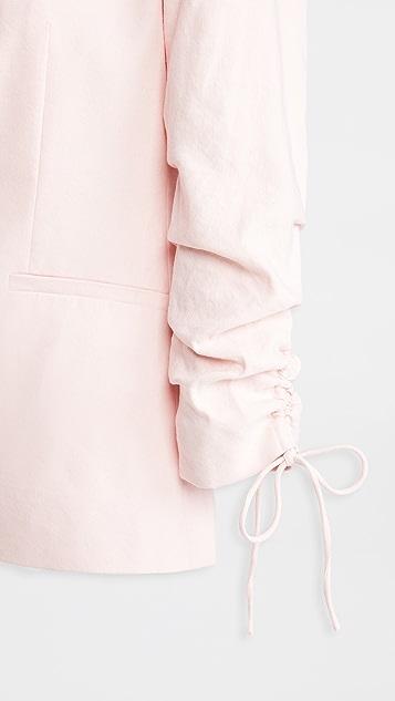 alice + olivia Lester Notch Collar Blazer